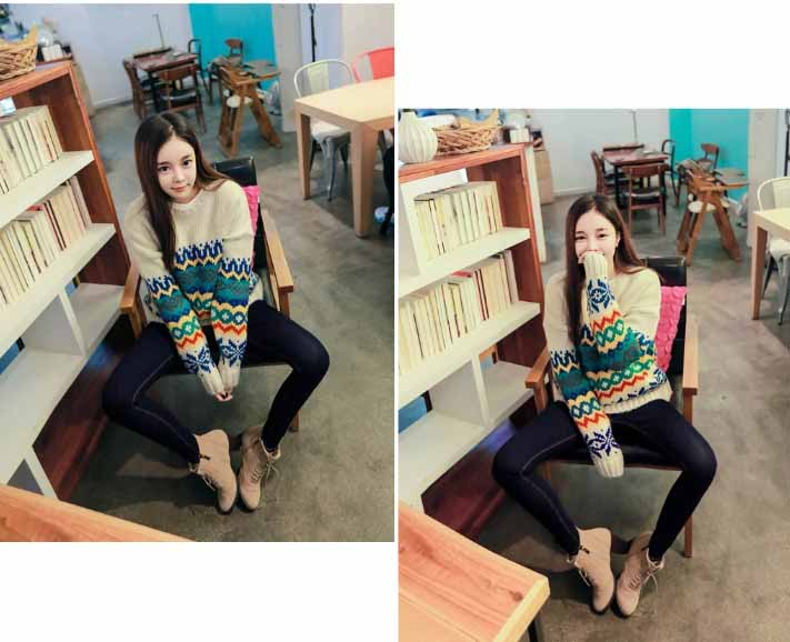 SWEATER IMPORT MODEL TRIBAL KOREA FASHION
