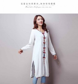 COAT PUTIH MODEL CINA 2016 FASHION