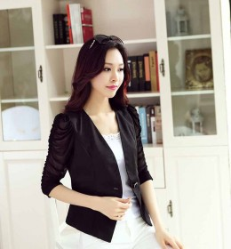 BLAZER HITAM MODEL TERBARU MODIS 2016 FASHION