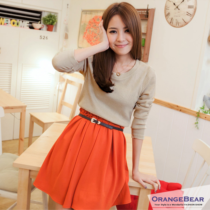DRESS KOREA CANTIK TERBARU