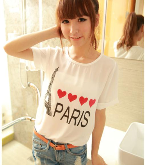 GAMBAR PARIS, I LOVE PARIS, BAJU I LOVE PARIS, BAJU GAMBAR PARIS ...