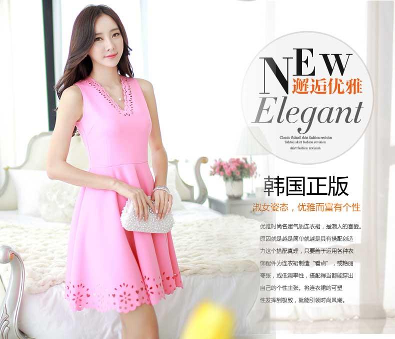DRESS PINK LENGAN BUNTUNG TERBARU 2016