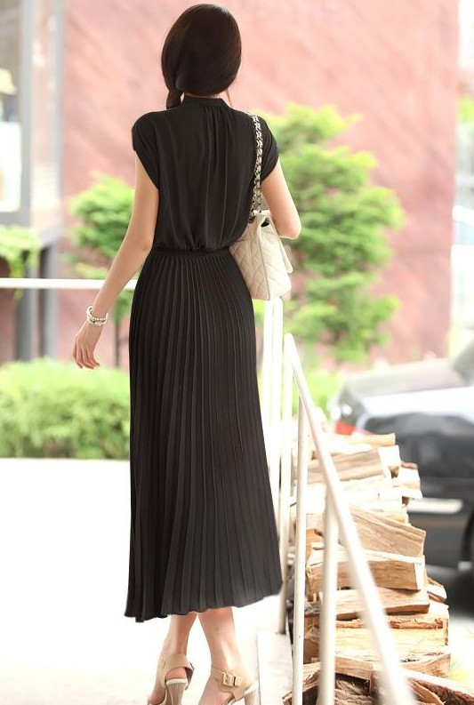 LONG DRESS IMPORT CANTIK HITAM