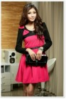 DRESS IMPORT LENGAN PANJANG PITA MODIS