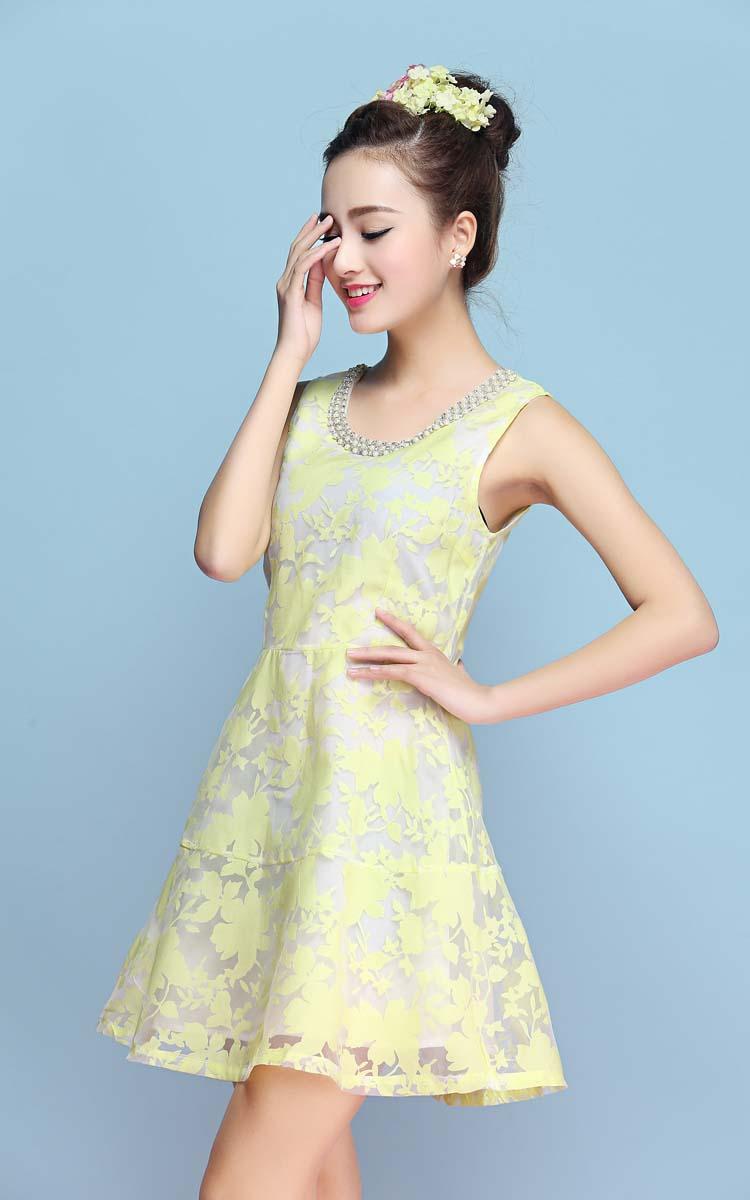 JUAL DRESS WANITA LENGAN BUNTUNG IMPORT 2016