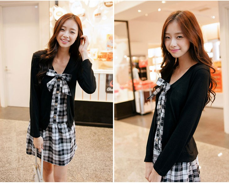DRESS IMPORT MODEL KOREA CANTIK,  DRESS IMPORT KOREA PANJANG