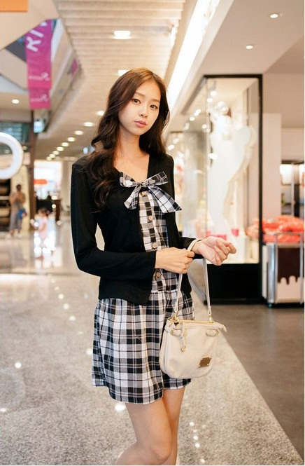 DRESS IMPORT MODEL KOREA CANTIK