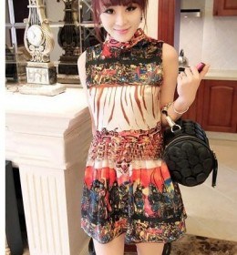 DRESS IMPORT LENGAN BUNTUNG CANTIK