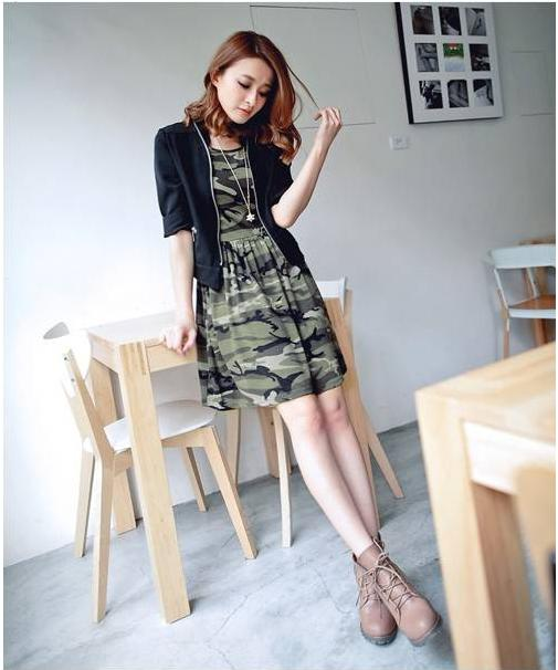 DRESS IMPORT LORENG CANTIK ABU 1