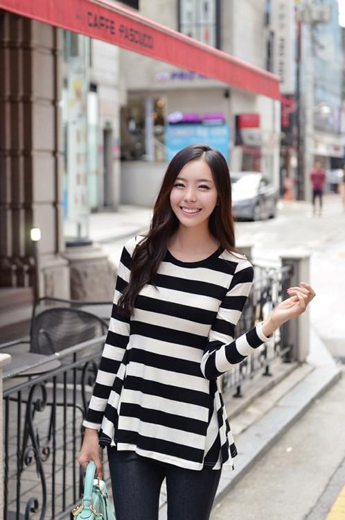 BLOUSE WANITA KOREA SIMPEL CANTIK