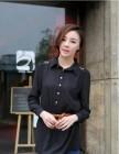 KEMEJA DRESS IMPORT KOMBINASI BROKAT LENGAN PANJANG