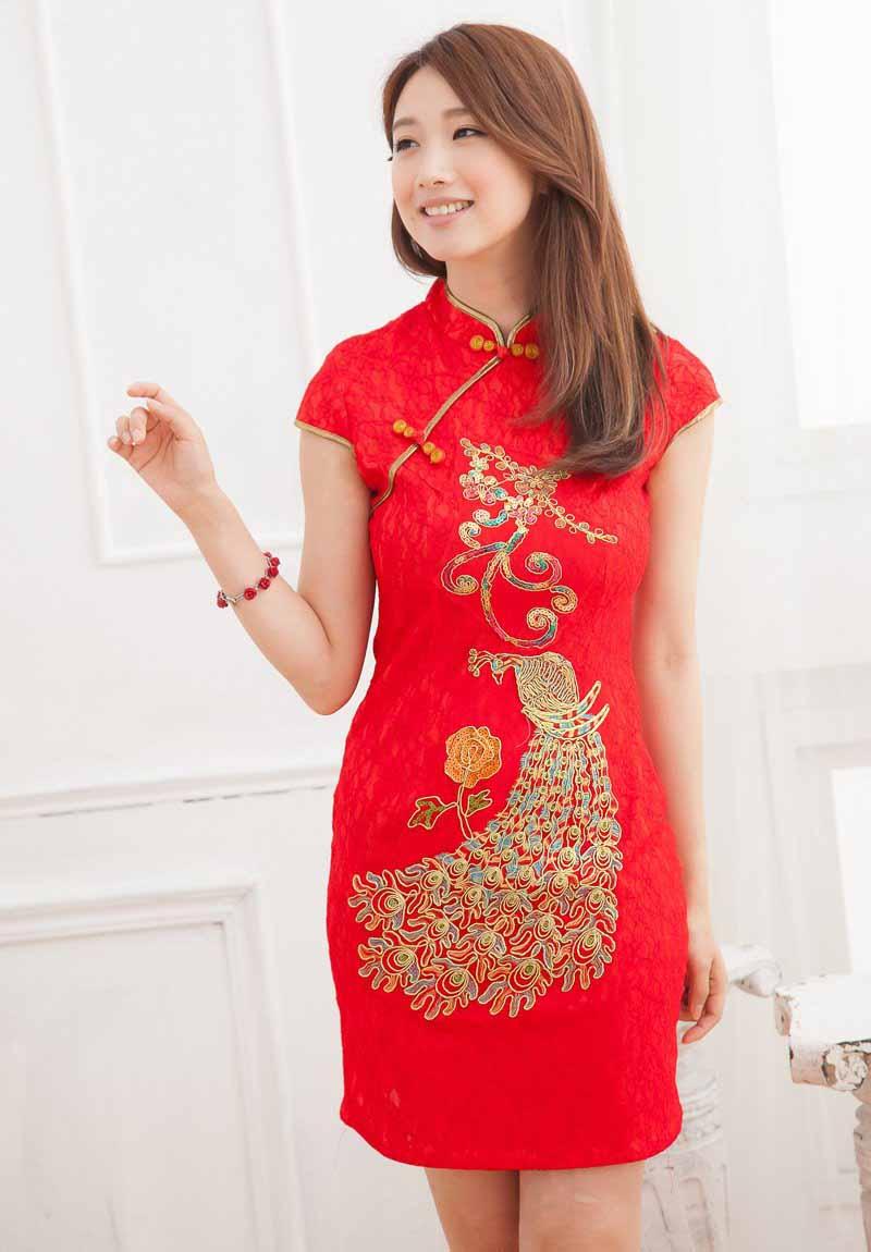 JUAL BAJU IMLEK CHEONGSAM WANITA IMPORT CHINA