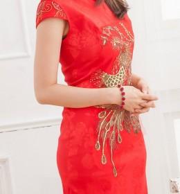 BAJU DRESS CHEONGSAM WANITA IMLEK 2014