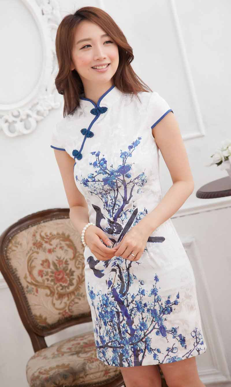 DRESS CHEONGSAM CHINA MODEL TERBARU 2014 MODERN