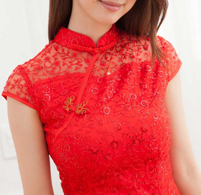 DRESS CHEONGSAM IMLEK SIMPLE TERBARU 2014 MODIS