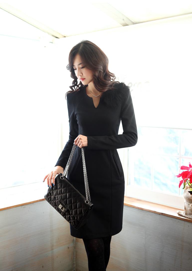 DRESS KOREA MODEL TERBARU 2014 IMPORT