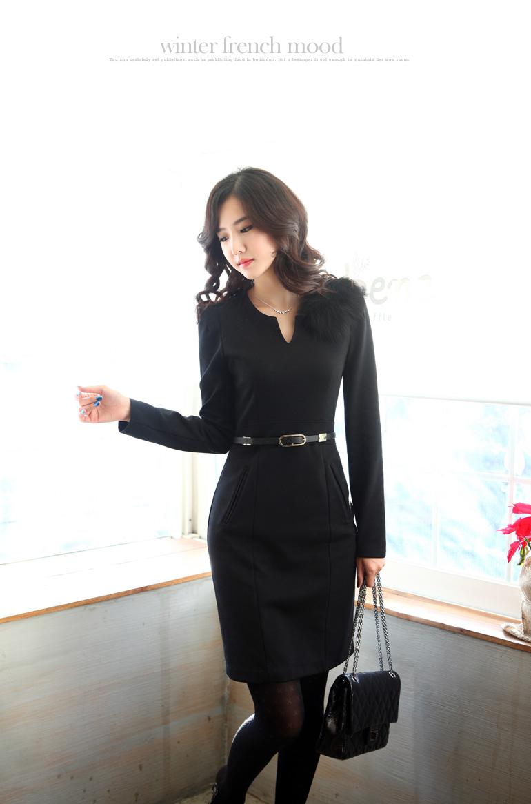 Korean Dress Model 2014