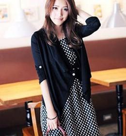 DRESS IMPORT 2PCS PANJANG HITAM