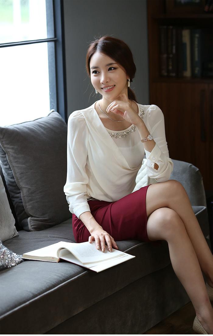 ATASAN WANITA KOREA CANTIK LENGAN PANJANG 2014