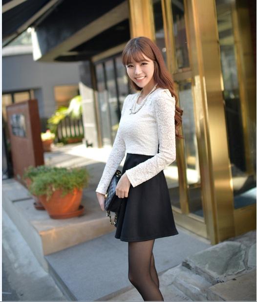 DRESS BROKAT KOREA TERBARU 2014 MURAH