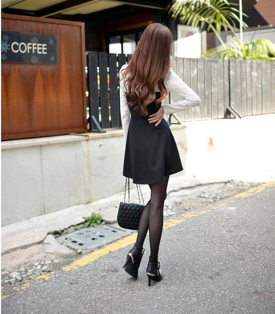 DRESS BROKAT KOREA TERBARU 2014 SIMPEL