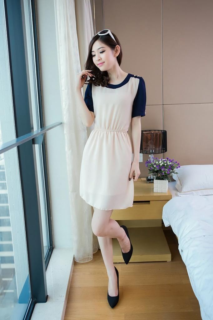DRESS WANITA KOREA TERBARU 2014 MURAH