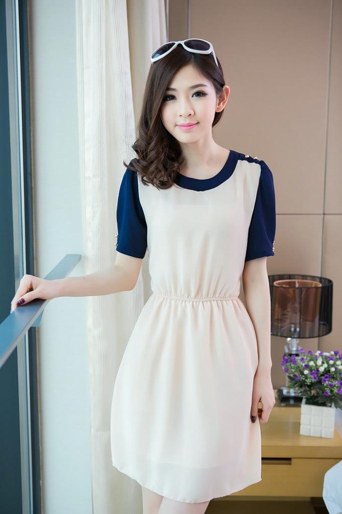 DRESS WANITA KOREA TERBARU 2014