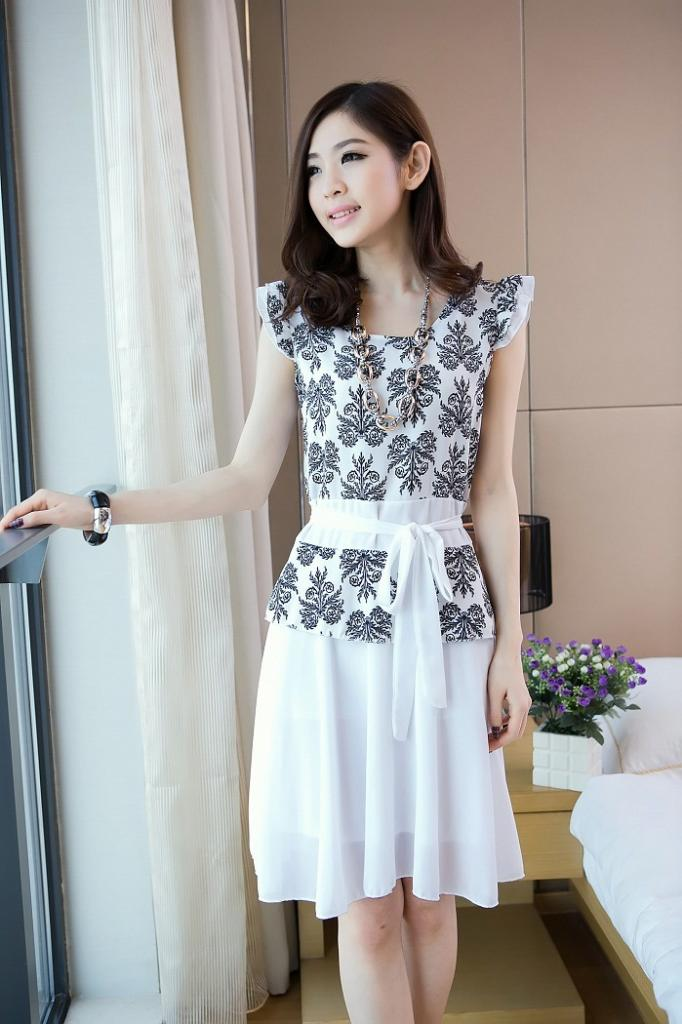 Model Dress Korea