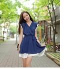 MINI DRESS IMPORT KOREA KERAH V