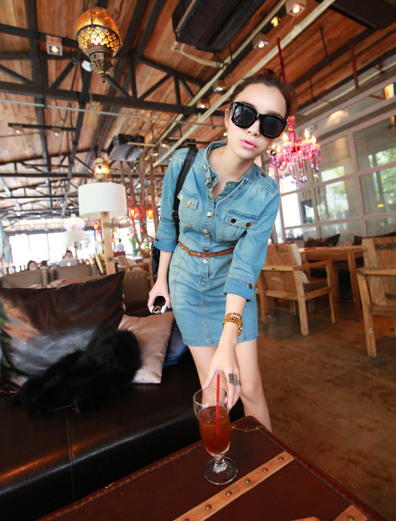 DRESS JEANS CANTIK TERBARU MODIS
