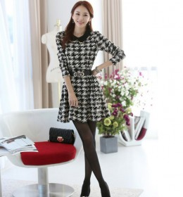 DRESS WANITA KOREA MOTIF 2014
