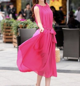 LONG DRESS KOREA CANTIK TERBARU