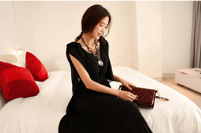 LONG DRESS PESTA TERBARU CANTIK KOREA