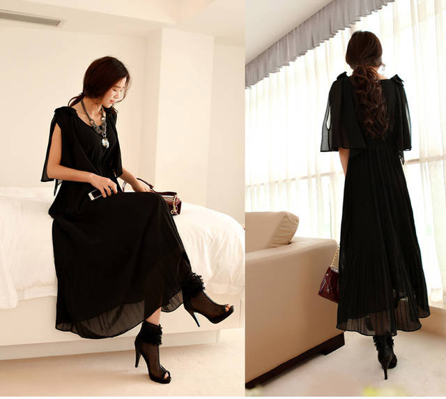 LONG DRESS PESTA TERBARU CANTIK MODIS