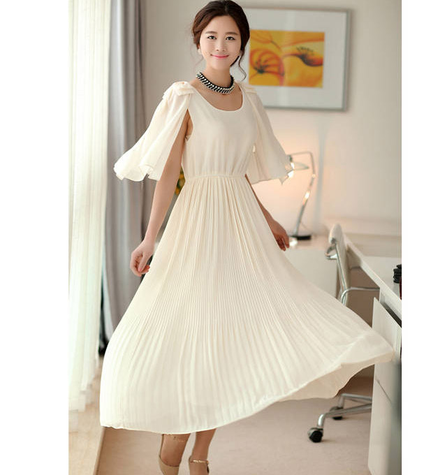 LONG DRESS PESTA TERBARU CANTIK