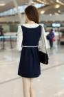 MINI DRESS KOREA LENGAN PANJANG