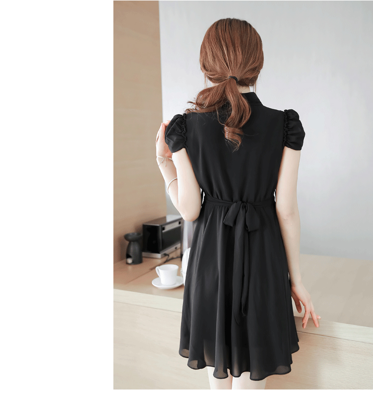 MINI DRESS KOREA CANTIK 2014 SIMPEL