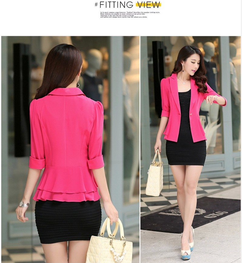 BLAZER WANITA KOREA MODIS IMPORT