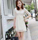 DRESS BROKAT MODERN MODEL KOREA