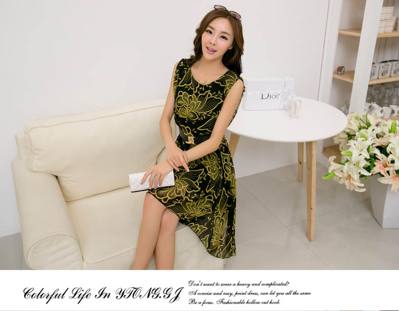 DRESS CANTIK KOREA TERKINI 2014