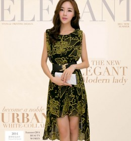 DRESS CANTIK KOREA TERKINI
