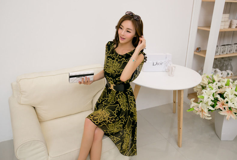DRESS CANTIK KOREA TERKINI IMPORT