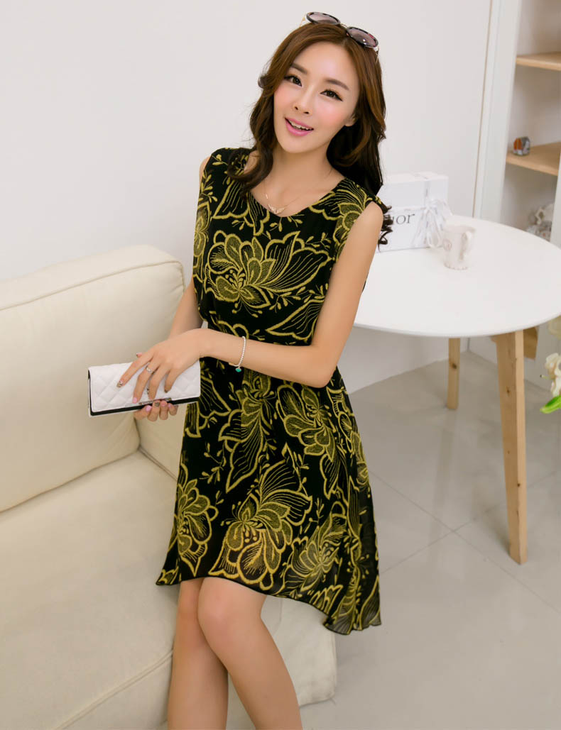 DRESS CANTIK KOREA TERKINI MURAH