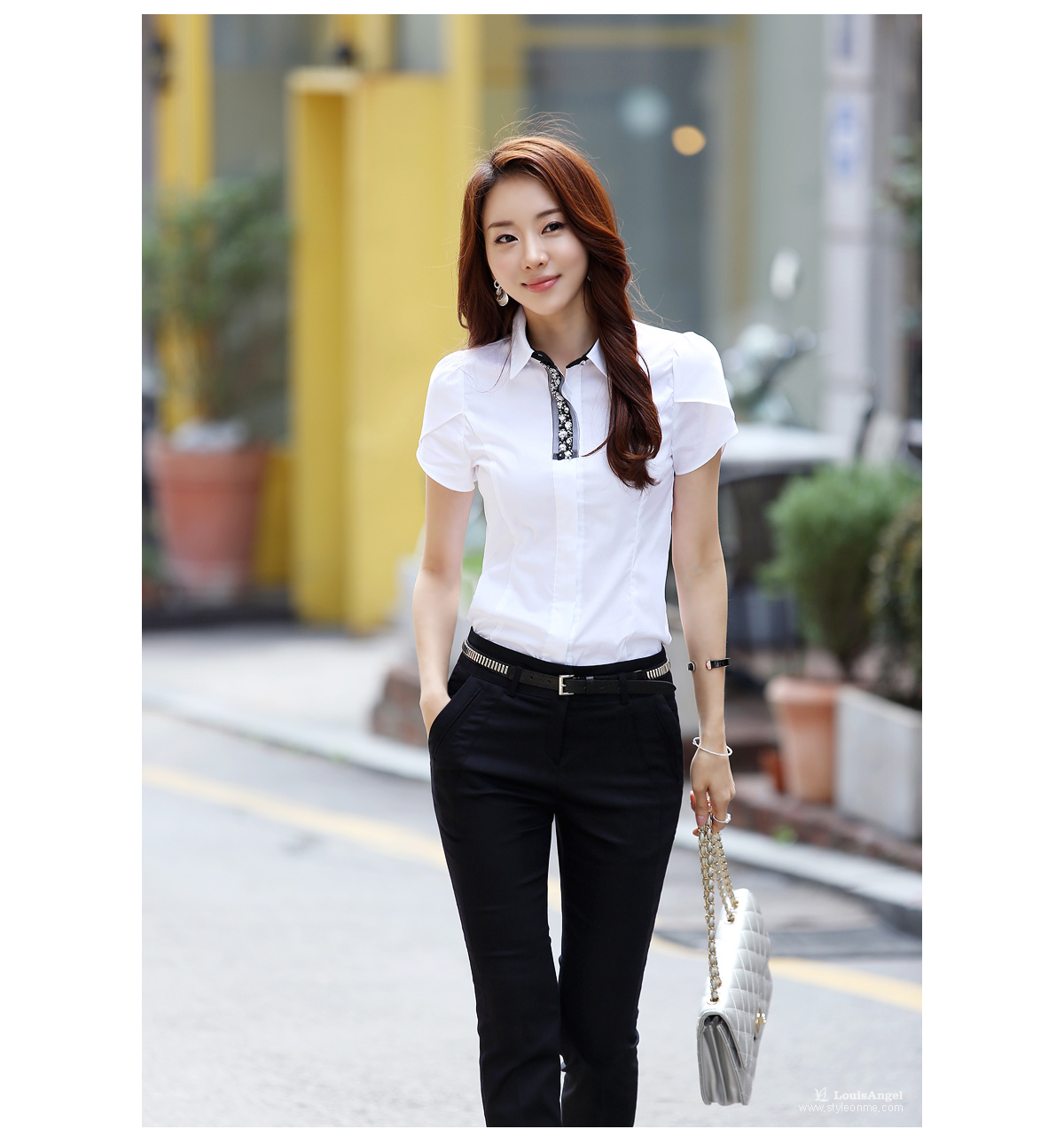 Blouse Korea Online Jakarta Hot Black Blouse
