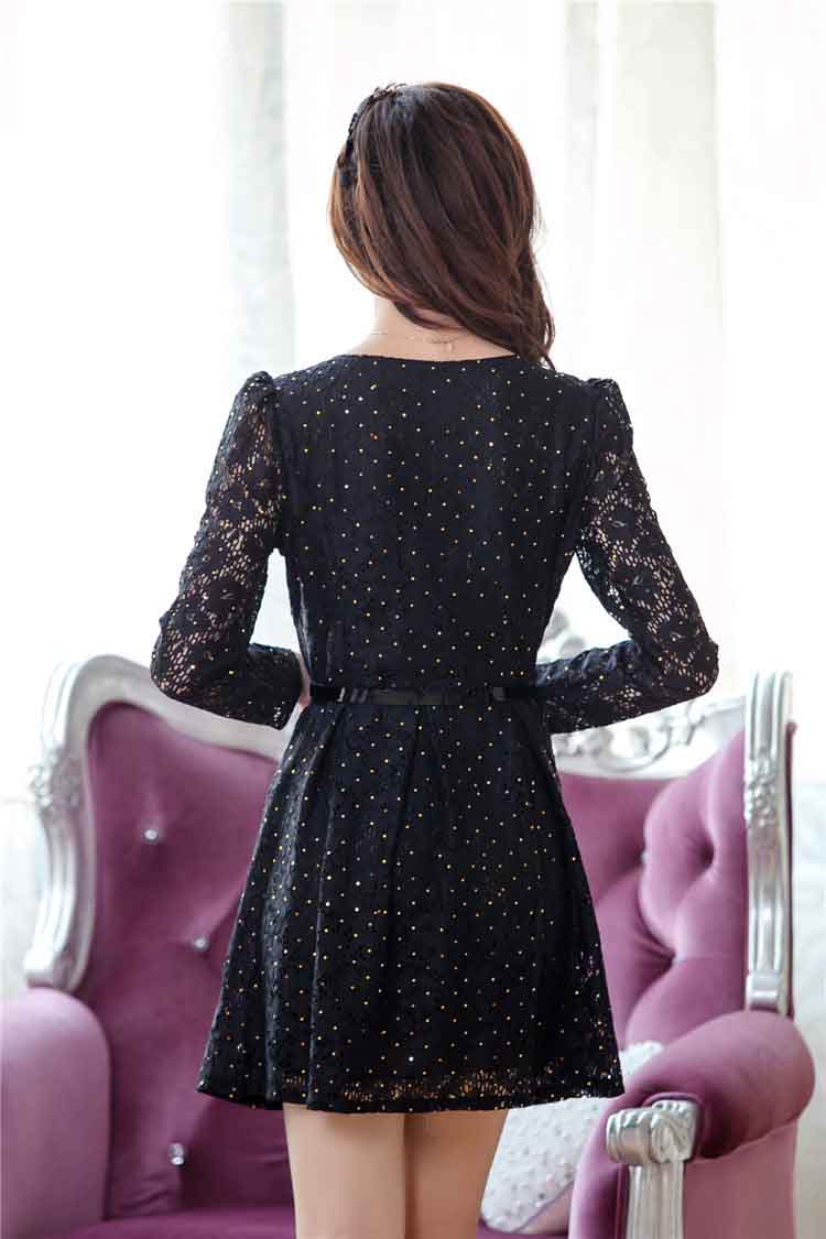 DRESS KOREA BAHAN BROKAT ONLINE MODIS