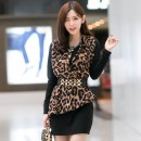 MINI DRESS MOTIF LEOPARD MODIS TERBARU