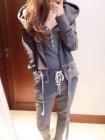 BAJU SWEATER HOODIE AUTUMN THREE PIECE