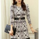 DRESS KOREA MOTIF TERBARU 2015