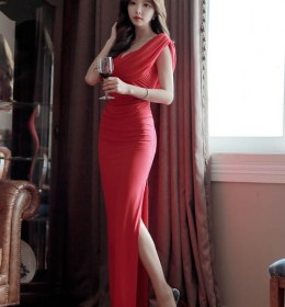 LONG DRESS PESTA KOREA 2015