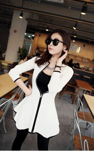 CARDIGAN DRESS WANITA KOREA 2015